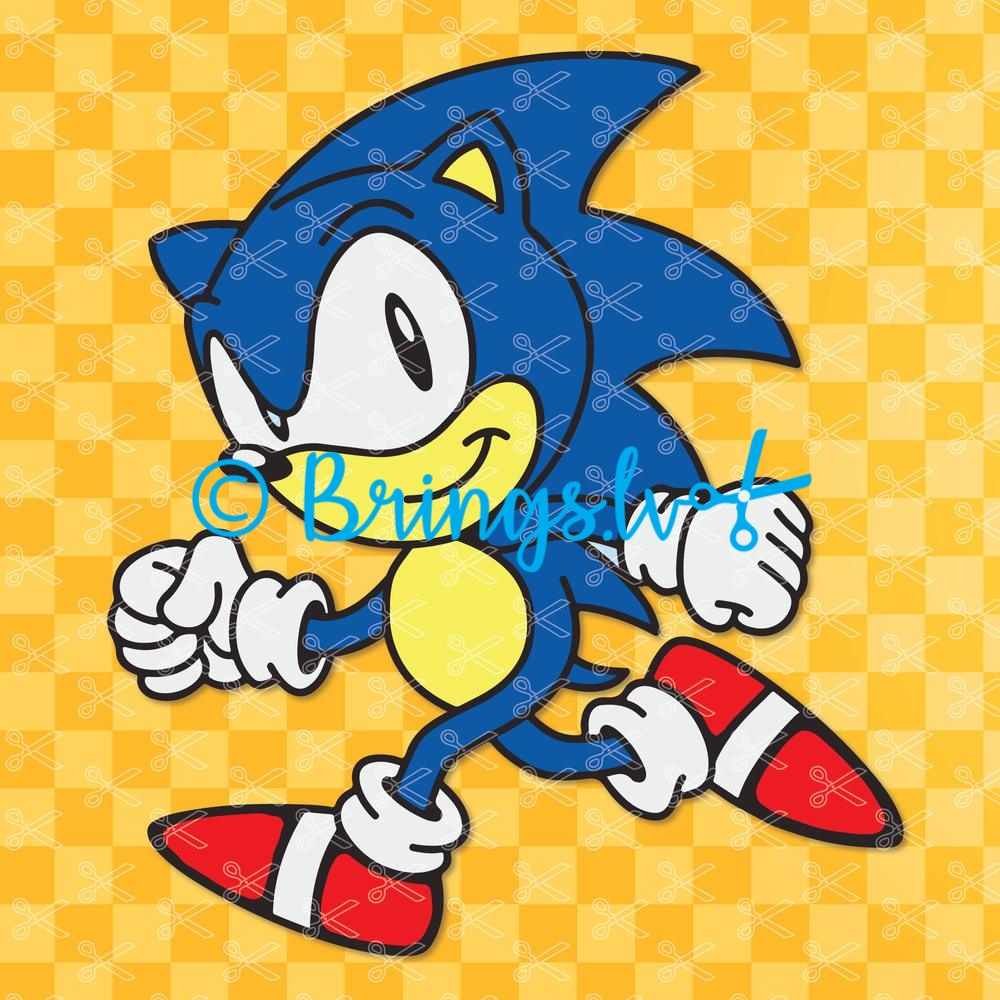 Sonic The Hedgehog Svg Sonic Svg Cut Files