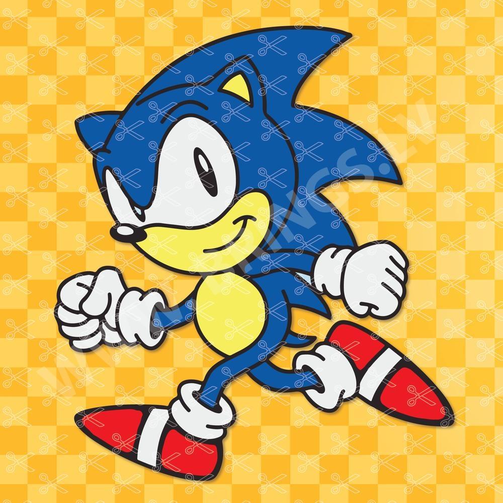 Sonic the hedgehog SVG
