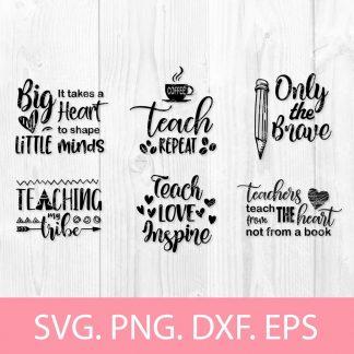 Teacher SVG Design Bundle