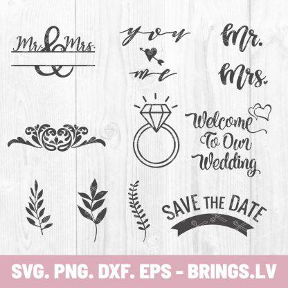 WEDDING SVG BUNDLE