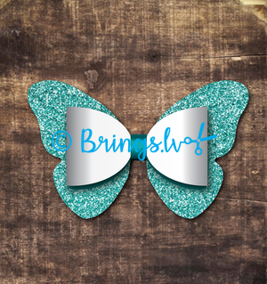 BUTTERFLY BOW TEMPLATE SVG