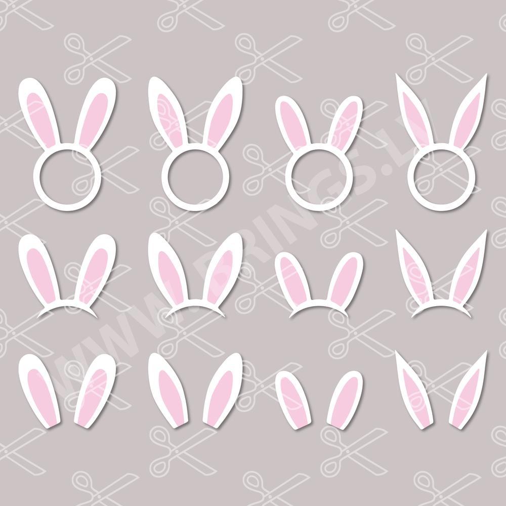 Bunny Ears SVG