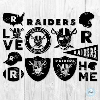 Oakland raiders svg