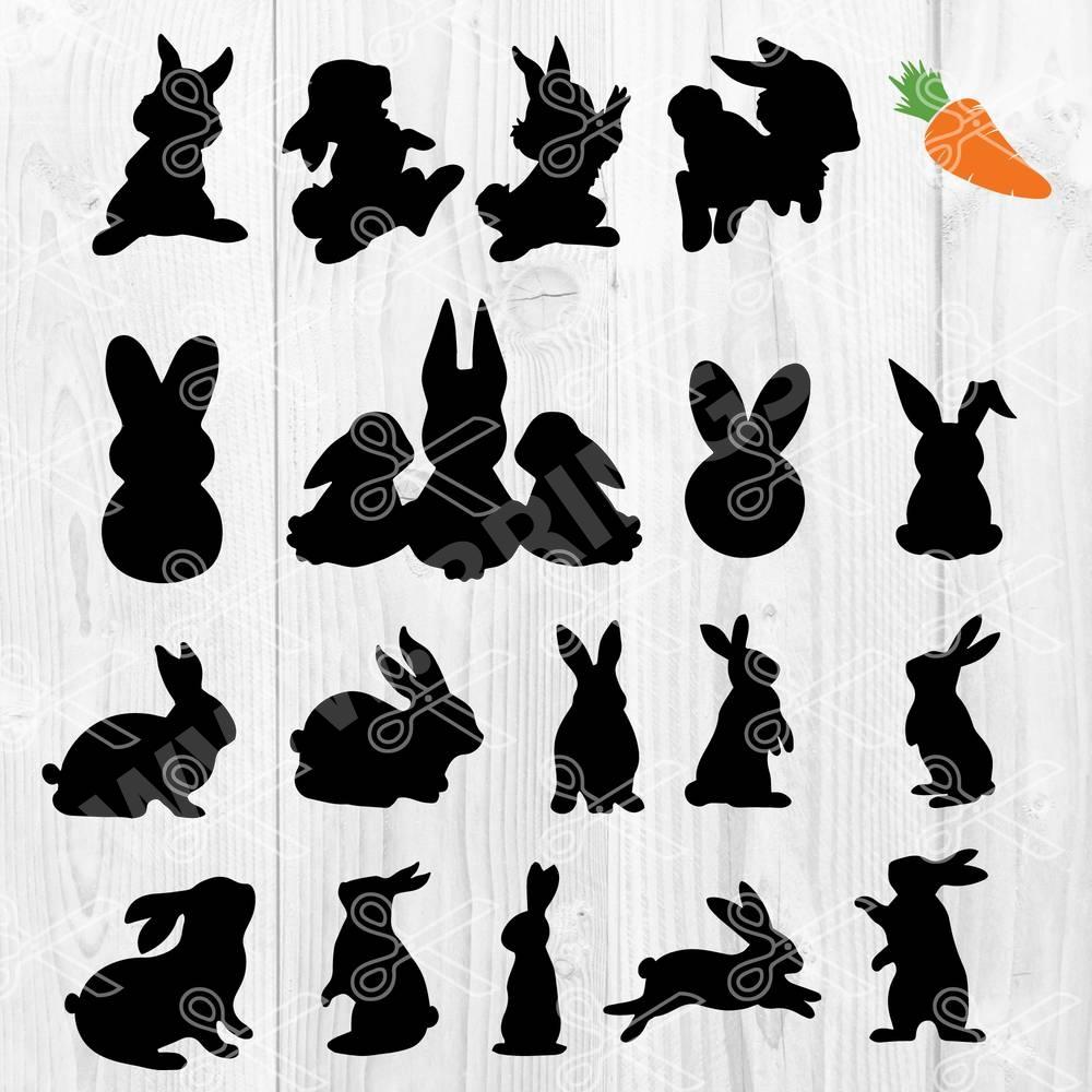 Easter Rabbit SVG