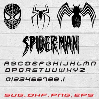 Spiderman SVG File