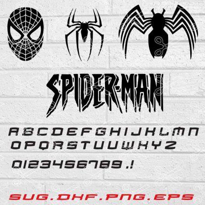 Spiderman SVG File