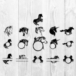 Horse Bundle SVG