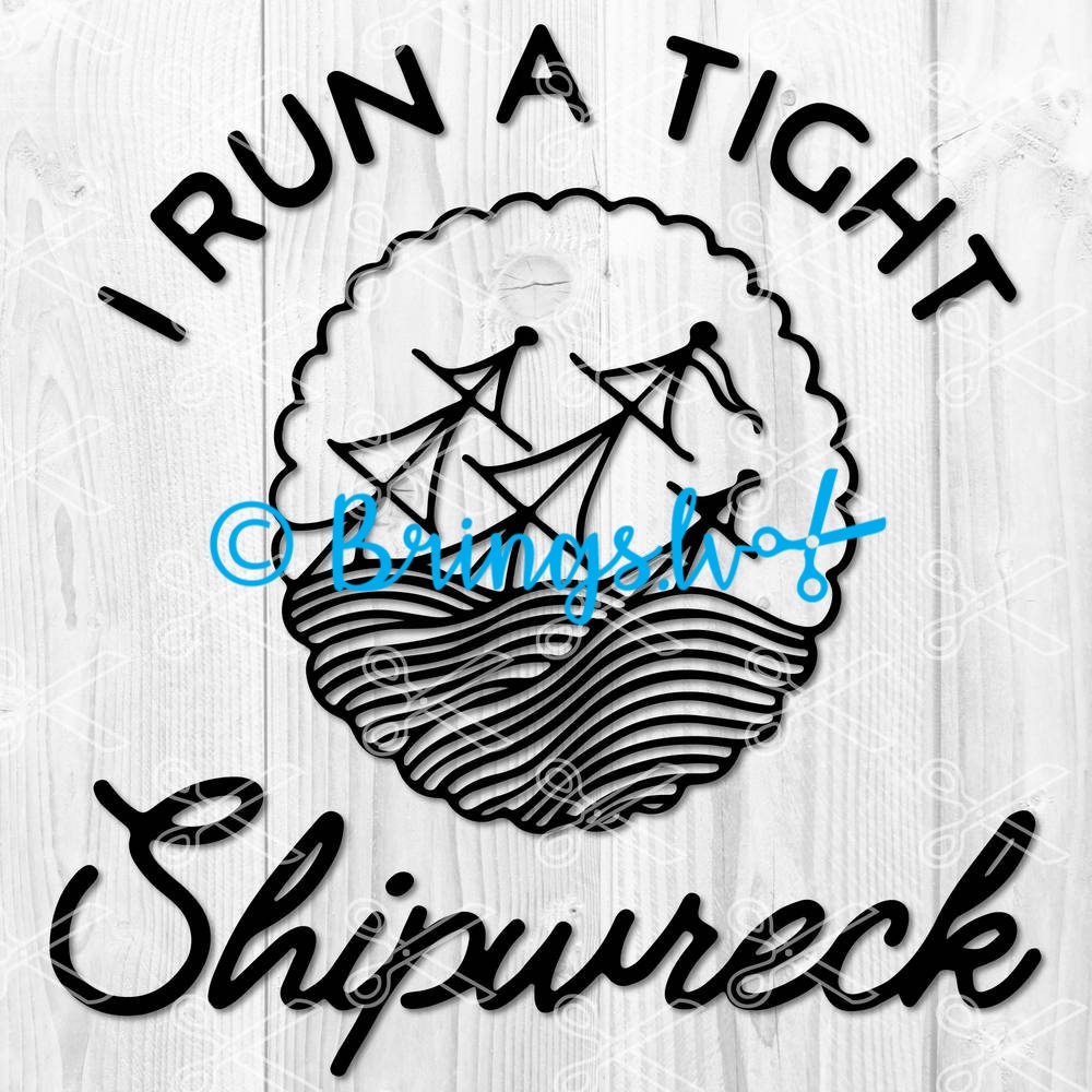 I run a tight shipwreck SVG