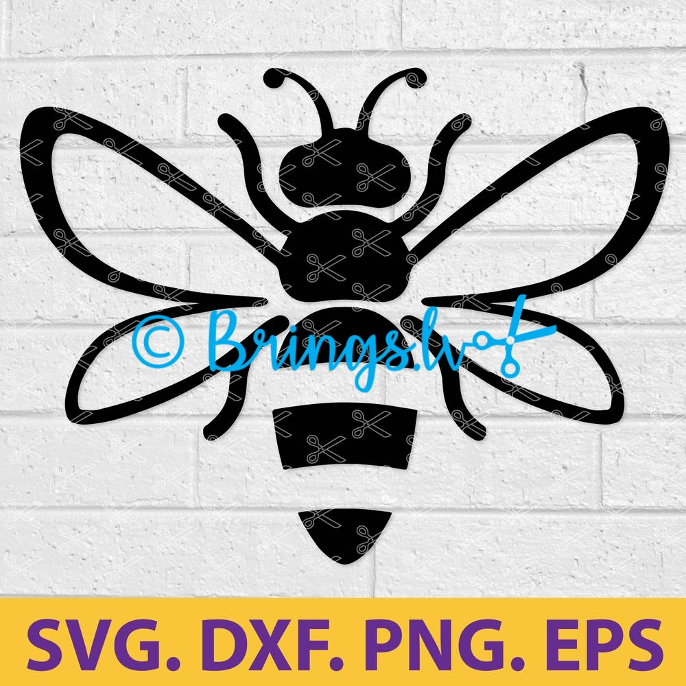 BEE SVG CUT FILE
