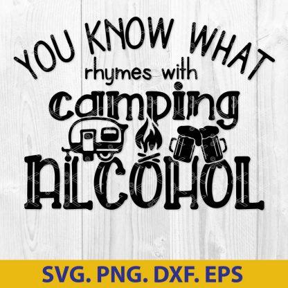 Camping SVG - Camper SVG