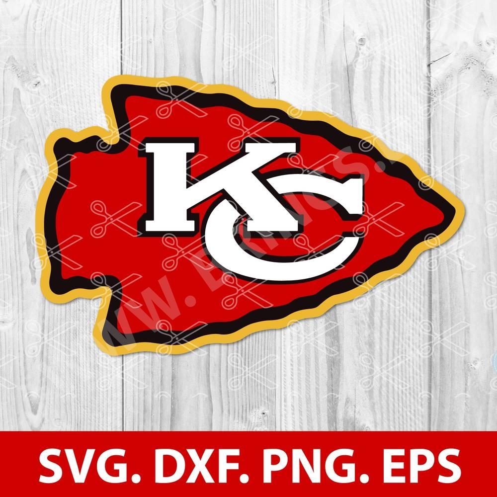 Chiefs Svg Dxf Png Eps Kansas City Chiefs Svg Cut Files