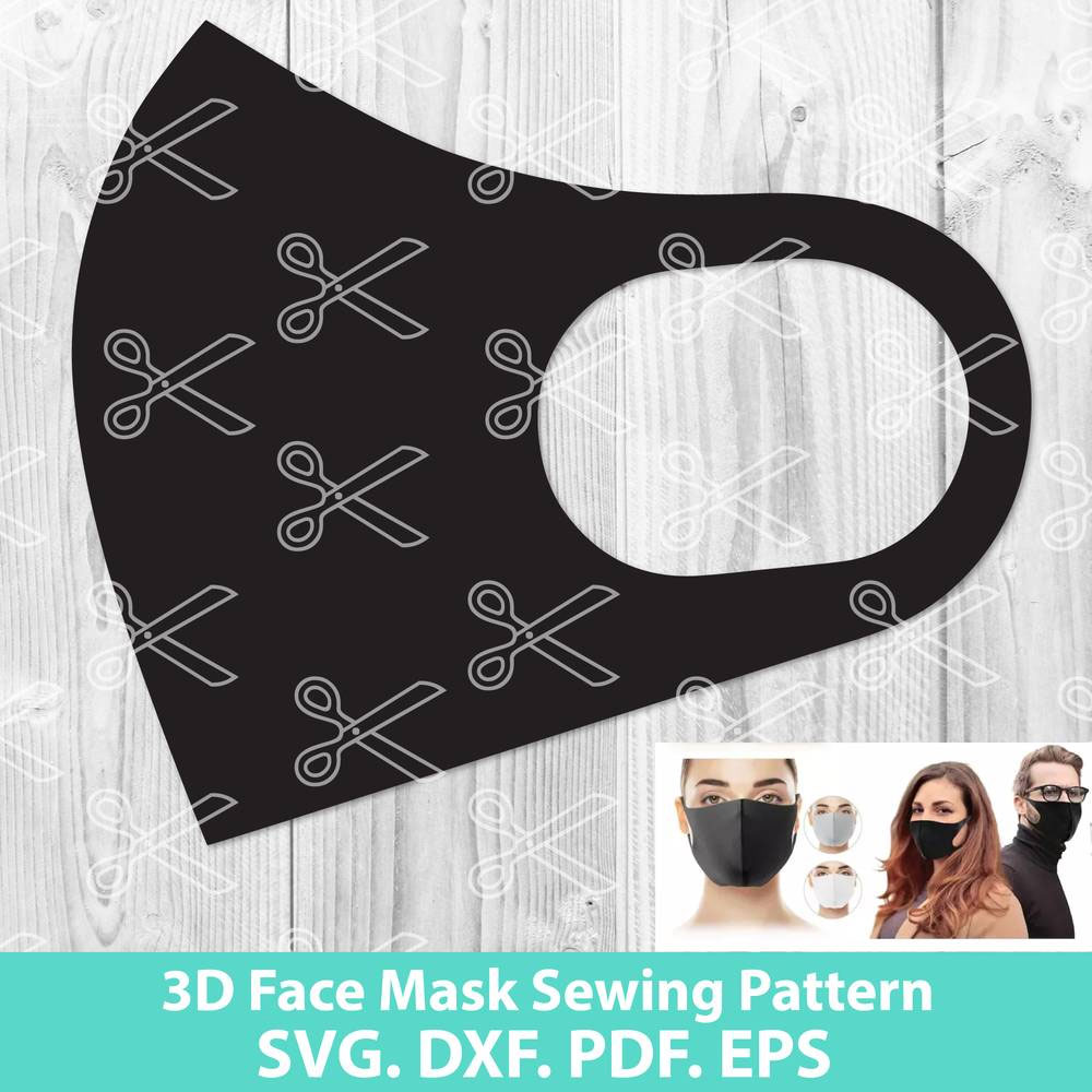 Face Mask Sewing Pattern