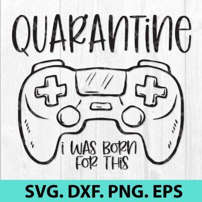Gamer Quarantine SVG