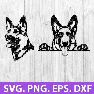 German Shepherd SVG