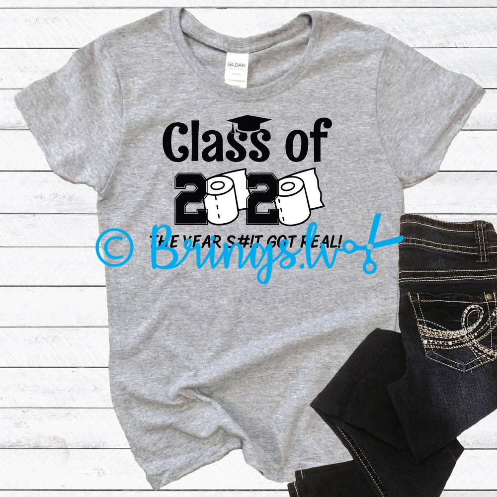 Graduation Class Of 2020 Toilet Paper SVG