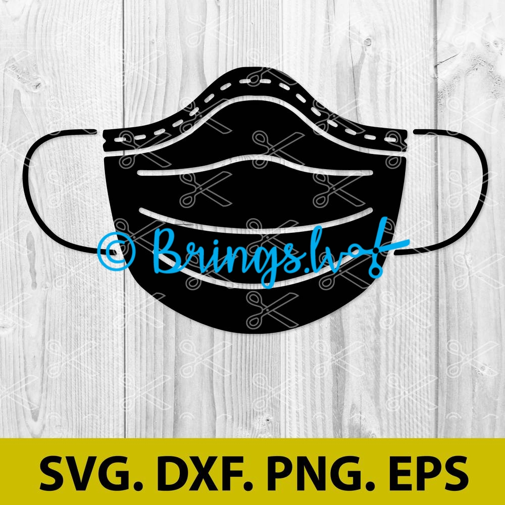 Medical Nursing Surgical Face Mask Archives High Quality Vector Design Svg Dxf Png Cut Files