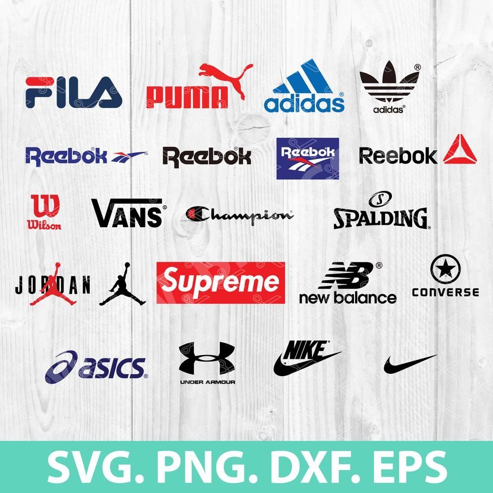 Mega Brand Sport Logos SVG Bundle
