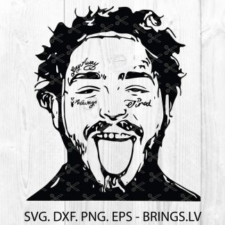 Post Malone SVG