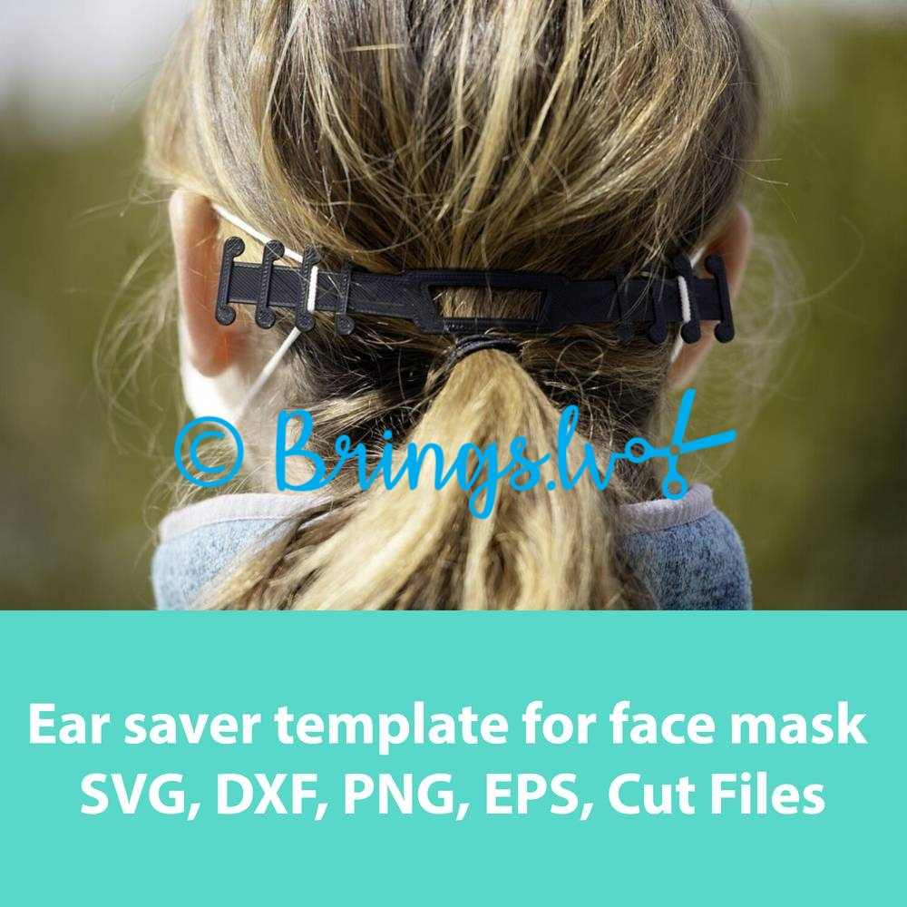 The surgical mask strap retainers