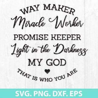 Waymaker SVG