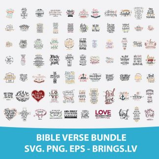 BIBLE VERSE SVG SCRIPTURE SVG