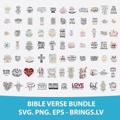 BIBLE VERSE SVG SCRIPTURE SVG