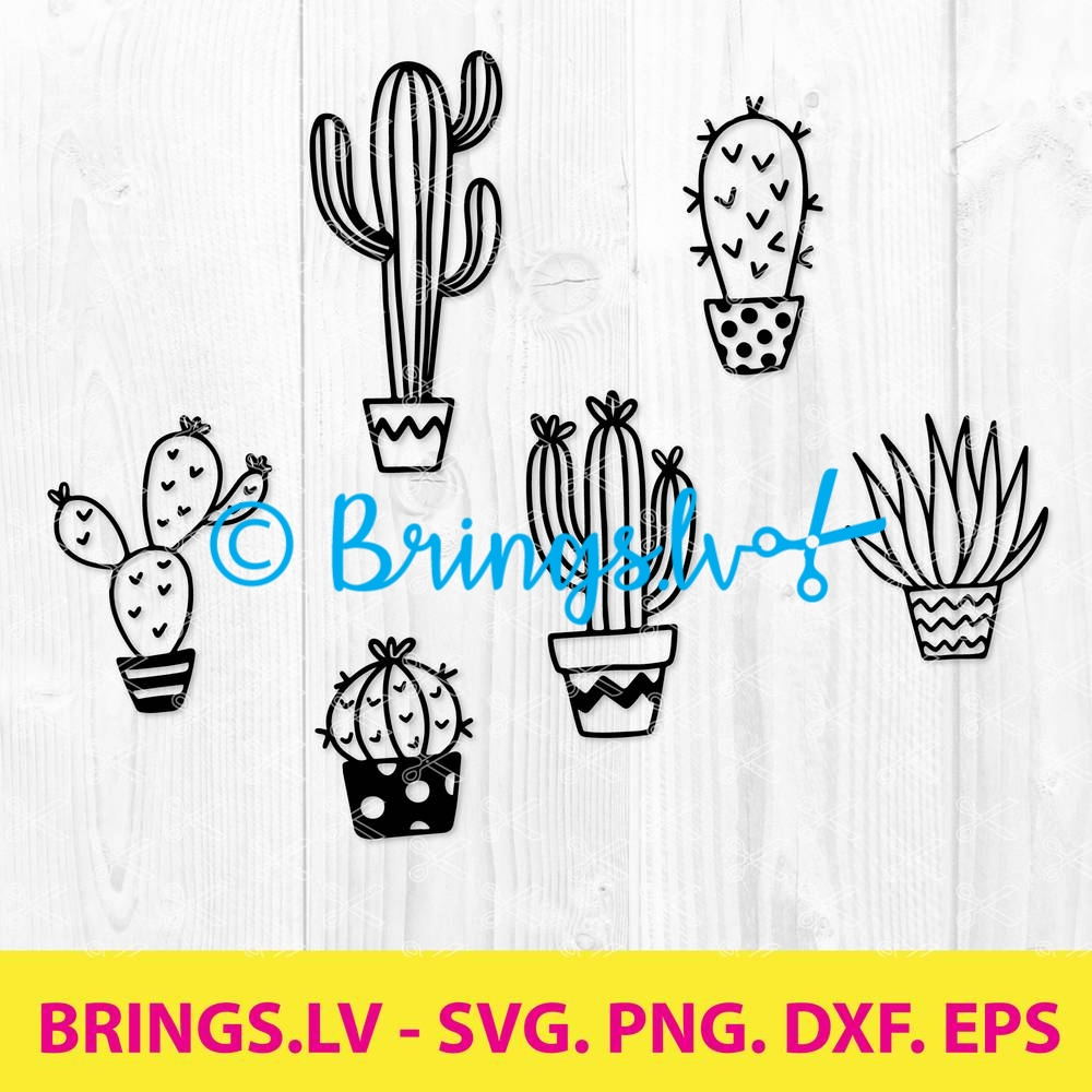 Cactus SVG Bundle