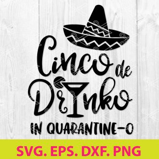 Cinco de Mayo Quarantine SVG