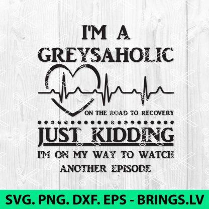 Greys Anatomy SVG Cut File