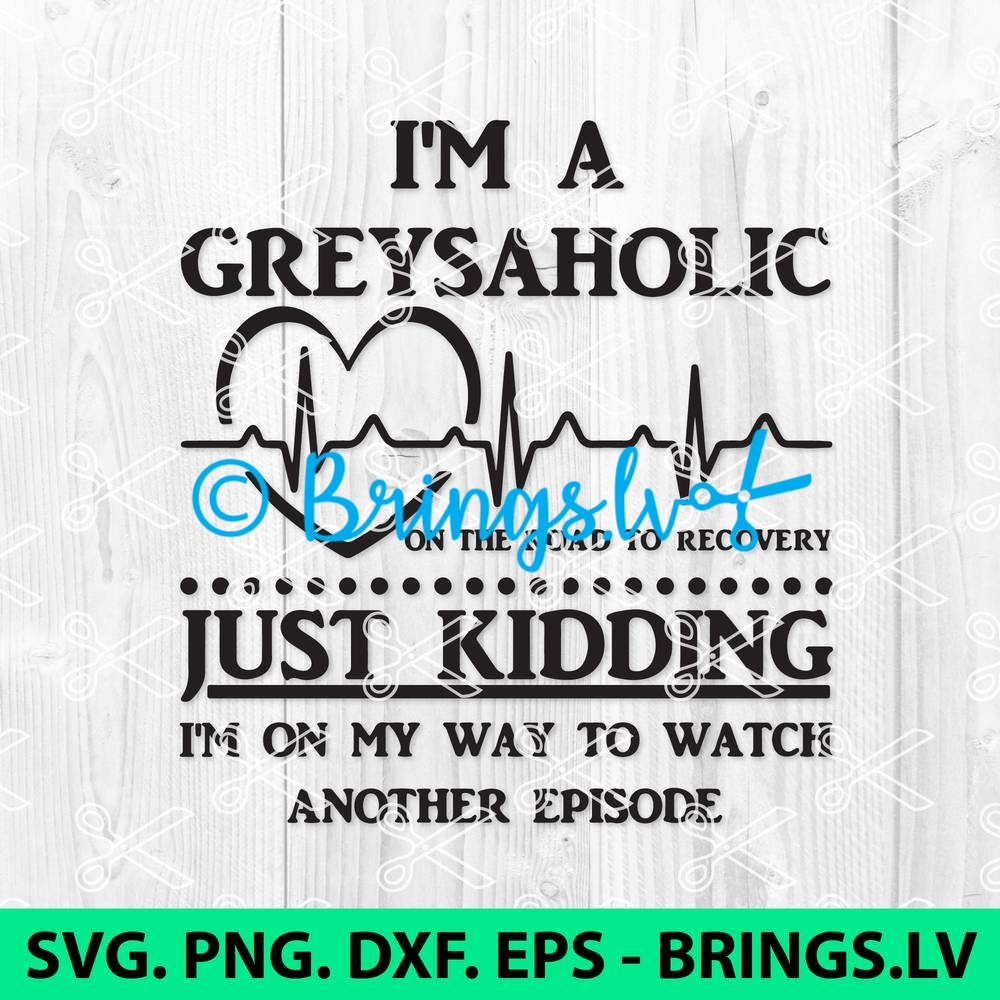 Greys Anatomy SVG Cut File