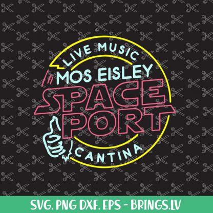 STAR WARS MOS EISLEY CANTINA SVG