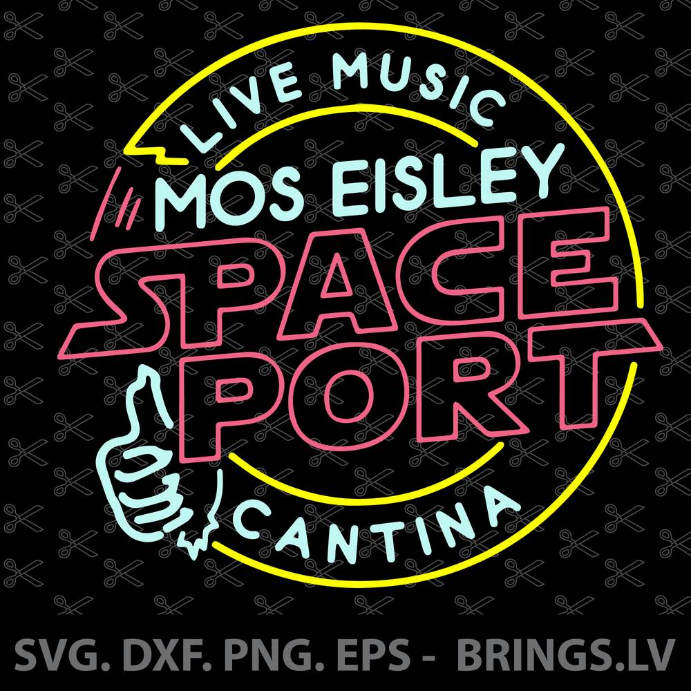 Mos Eisley Cantina Space Port SVG