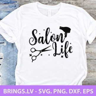 Salon Life SVG