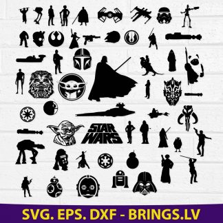 Star Wars Svg Bundle