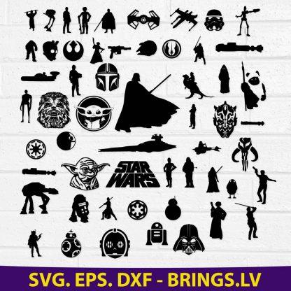 Star Wars Svg Bundle