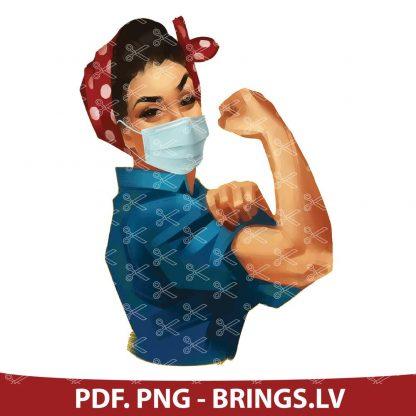 STRONG WOMAN NURSE 2020