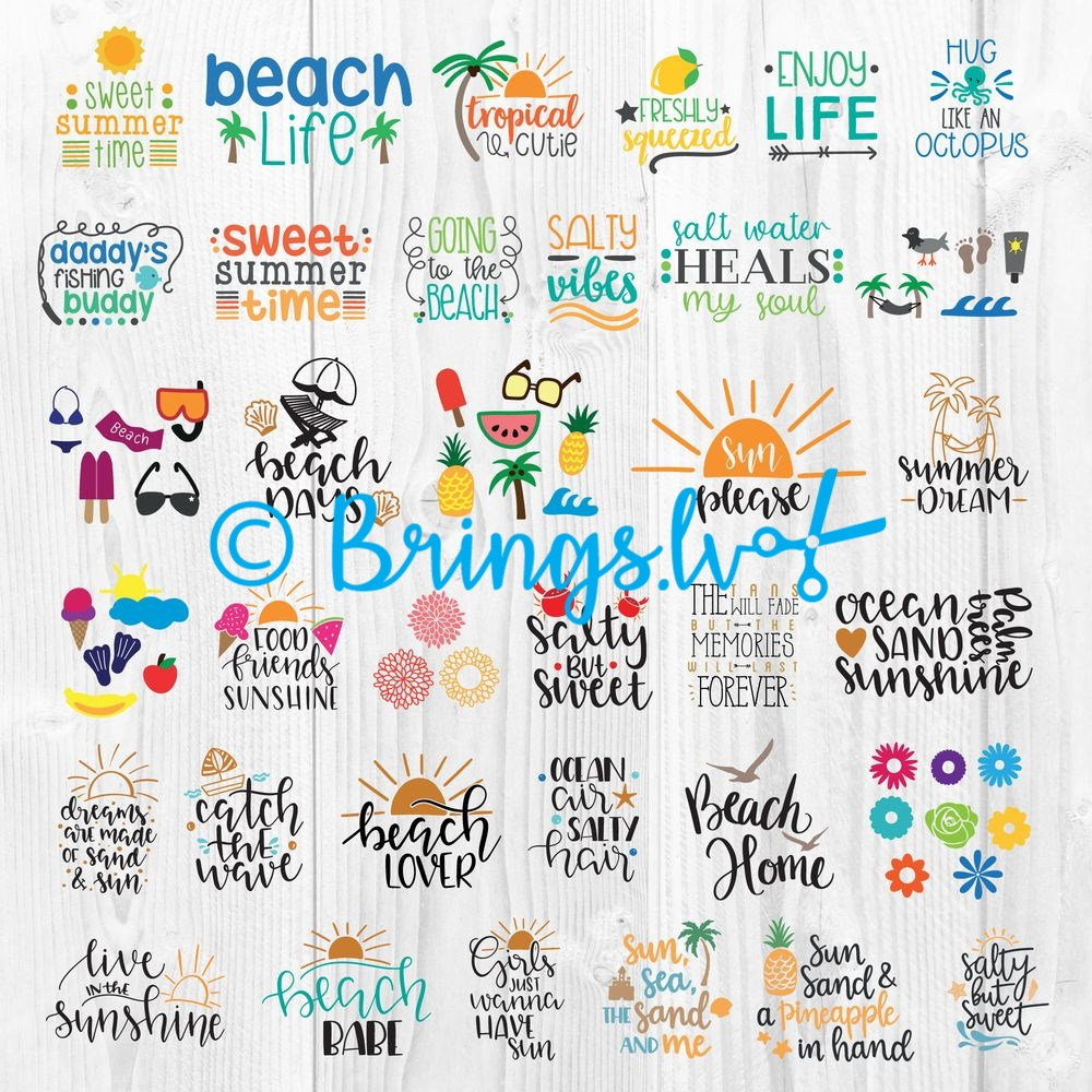 Summer Bundle Clipart