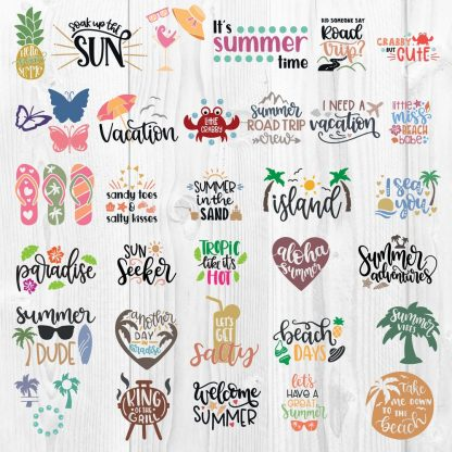 Summer SVG Bundle