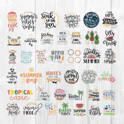 Big Summer SVG Bundle Cut File