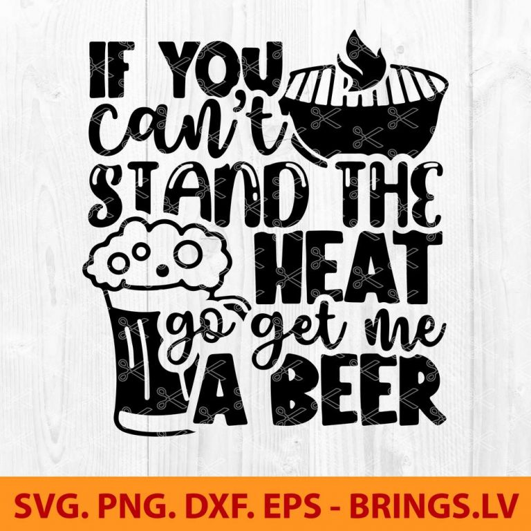 BBQ SVG Cut File