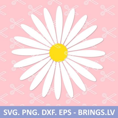 Daisy SVG Cut File