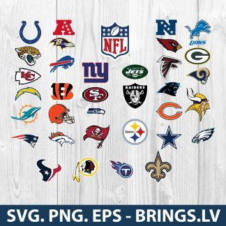 NFL SVG Bundle