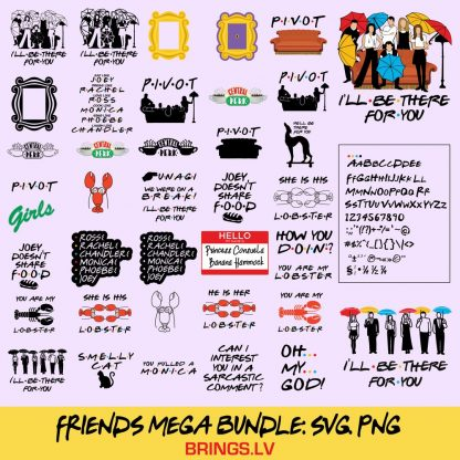 Fiends SVG Bundle