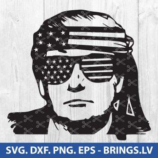 Trump SVG
