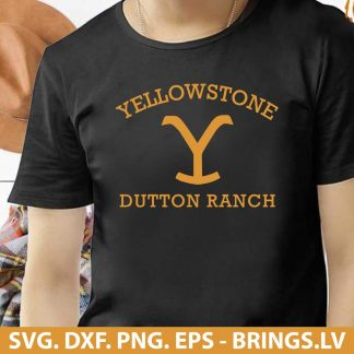 Yellowstone Dutton Ranch SVG
