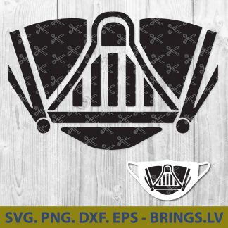 Darth Vader Mask SVG