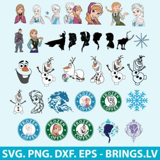 Frozen SVG Bundle