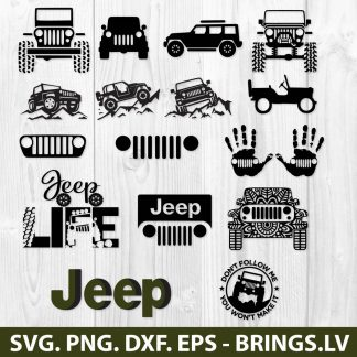 Jeep SVG Bundle