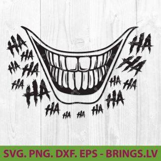 Joker Smile SVG