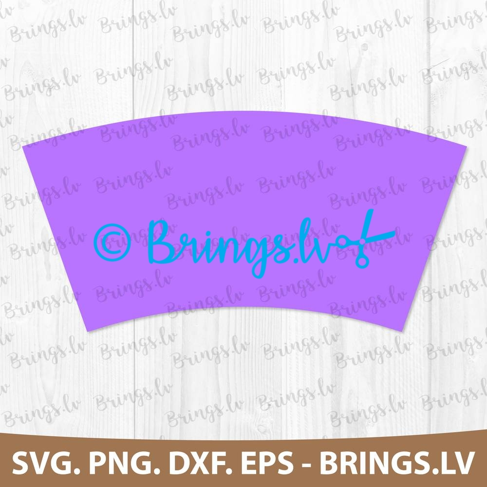 Plain Tumbler Coffee Cup Wrap Svg Dxf Png Eps Templates Printable